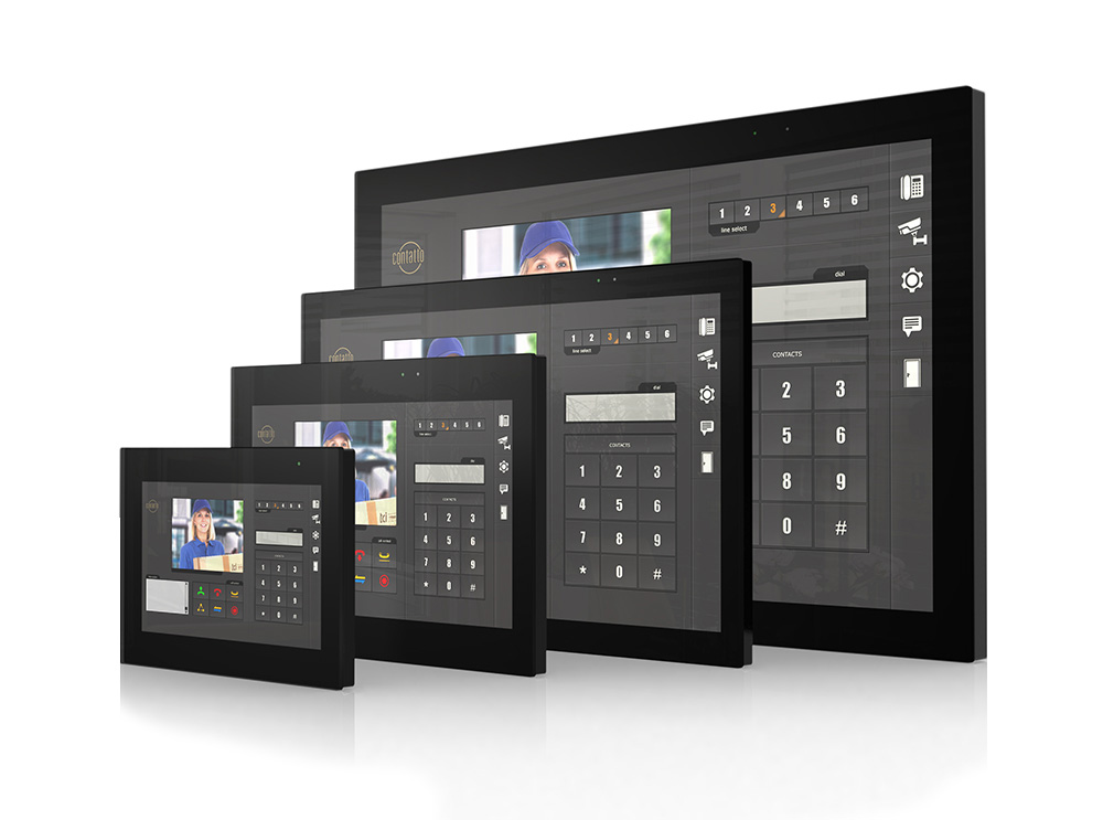 Touchpanels Gebäudeautomation