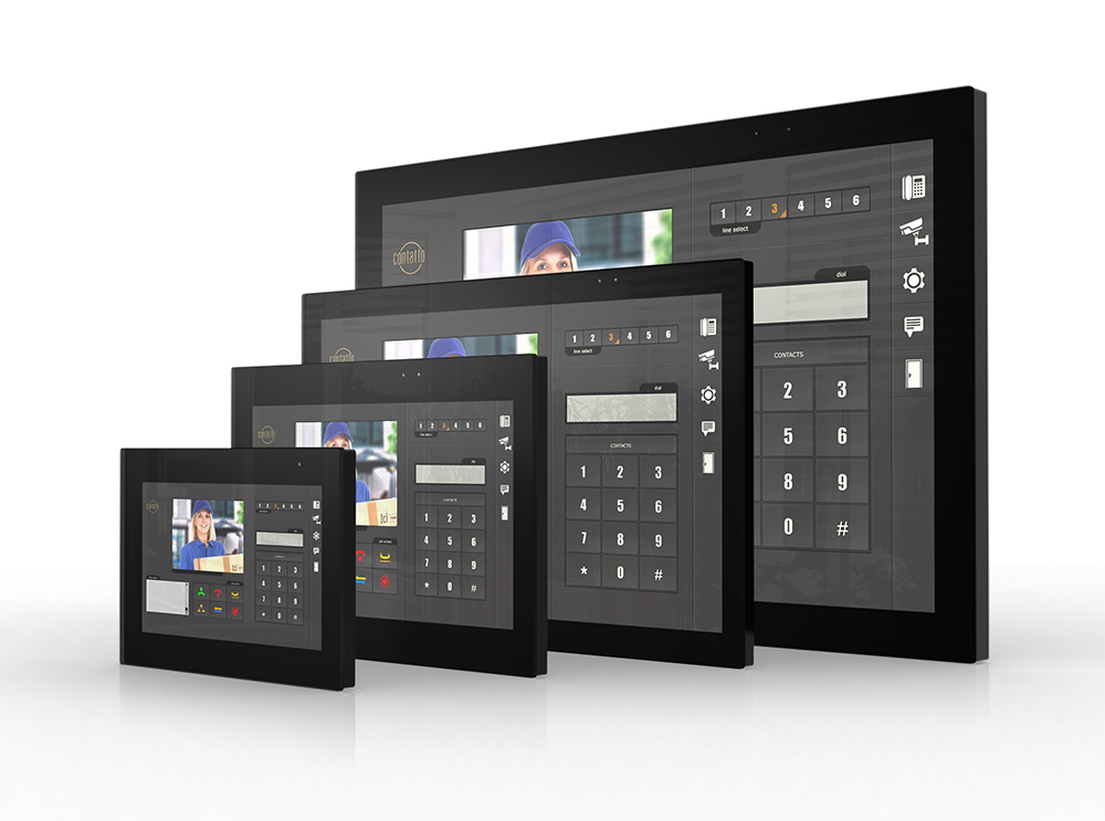 touch panels building automation