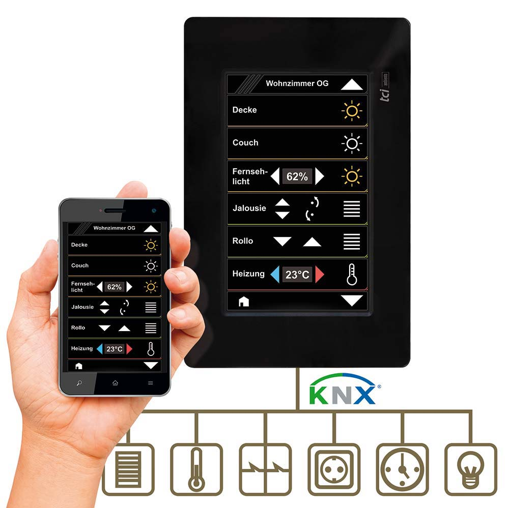 KNX Touchpanels