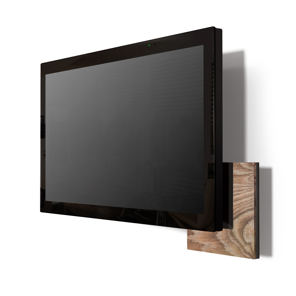 Touchpanel Windows Holz