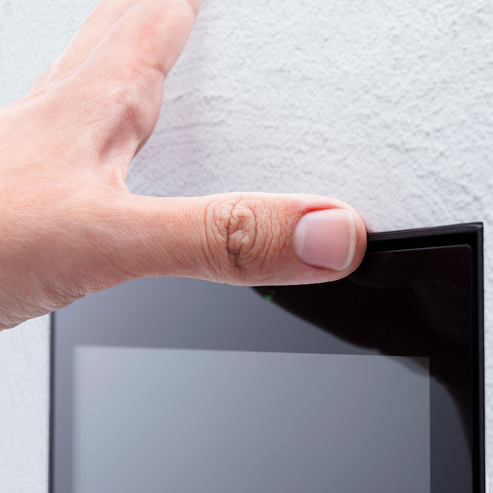 7-inch touch panel android flush mounting
